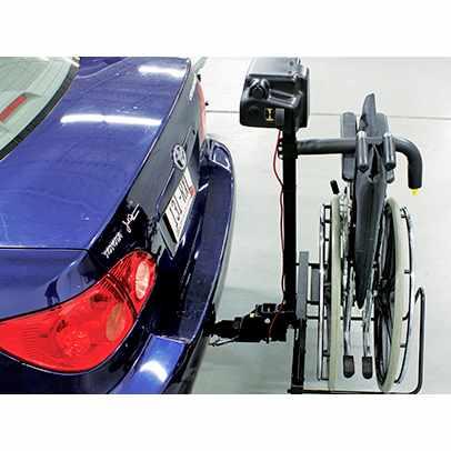 Bruno Back-Saver wheelchair lift