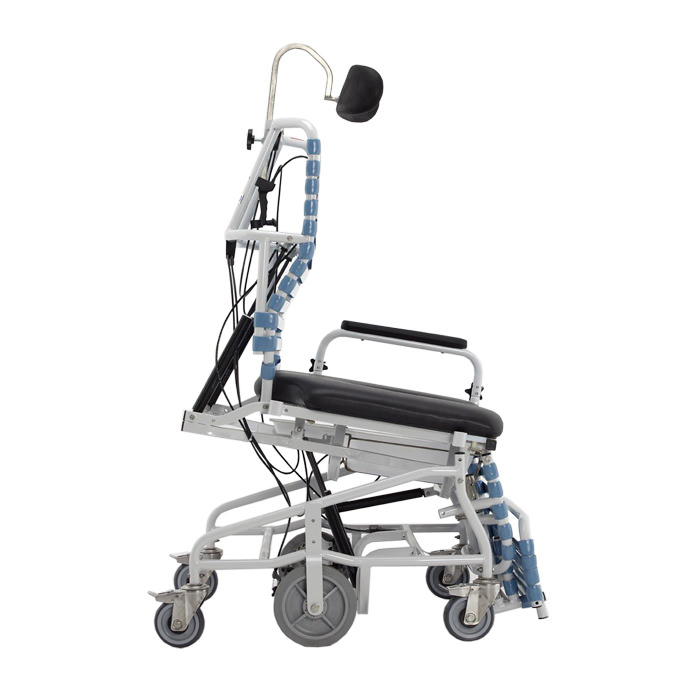 Broda Revive bariatric anterior tilt shower commode chair
