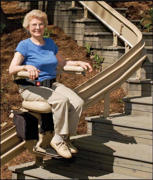 Bruno Outdoor Elite stair lift