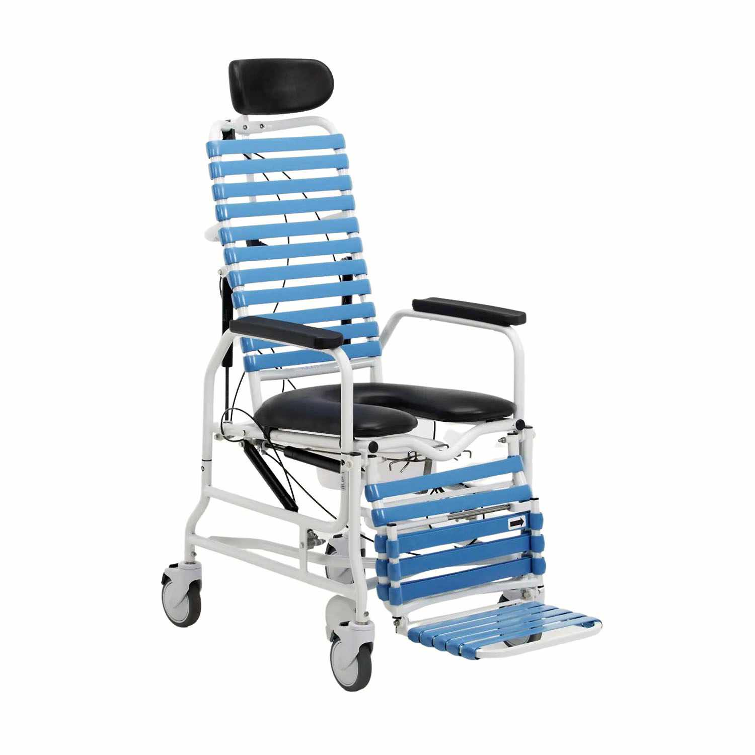 Broda Revive tilt & recline shower commode chair