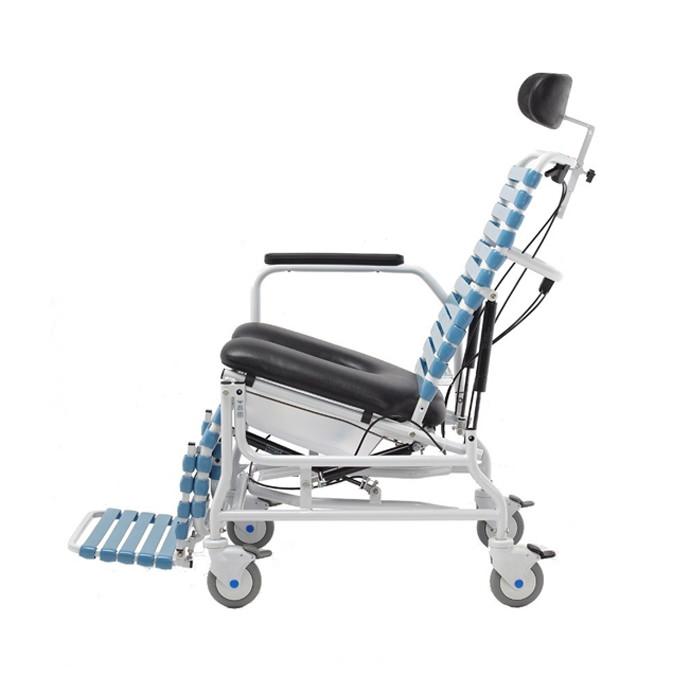 Broda Revive tilt & recline shower commode chair, CS-385