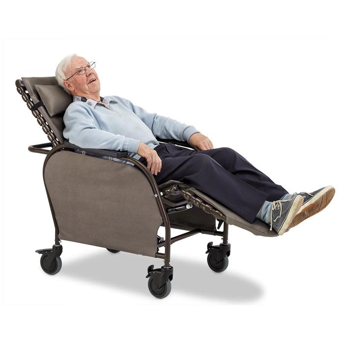 Broda Access LT Tilt Recliner Chair with client