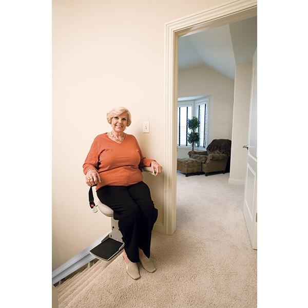 Elite indoor straight rail stair lift