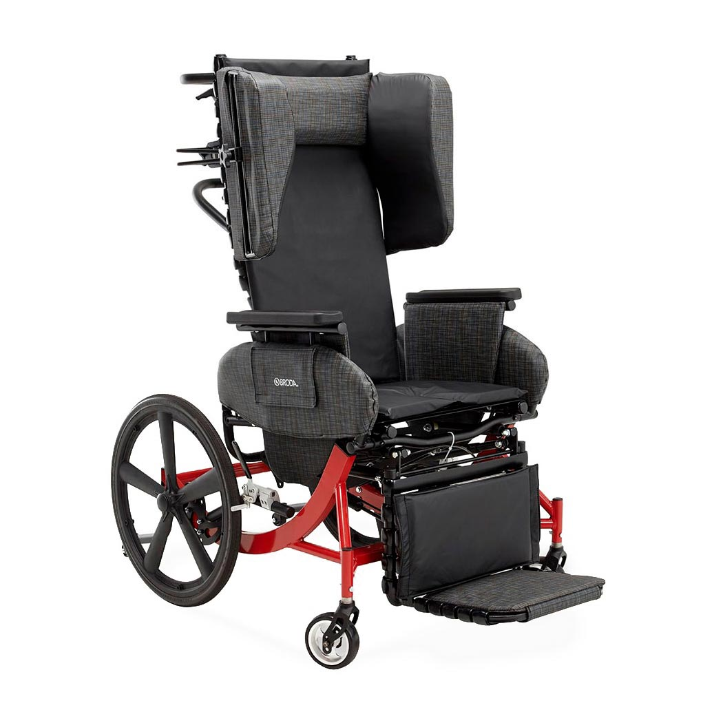 Broda Synthesis V4 WC-19 transport chair