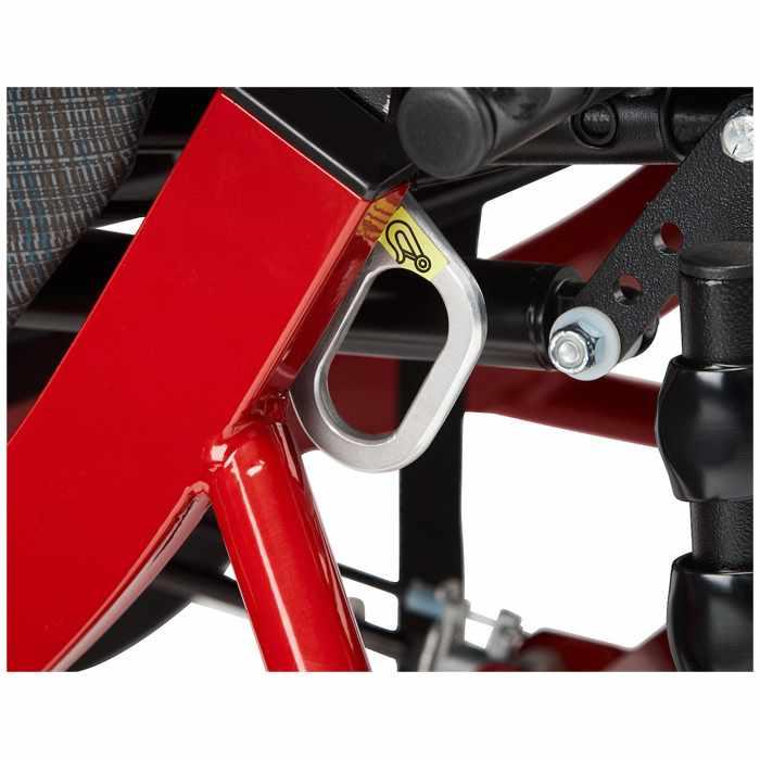 Broda Synthesis V4 transport chair bracket