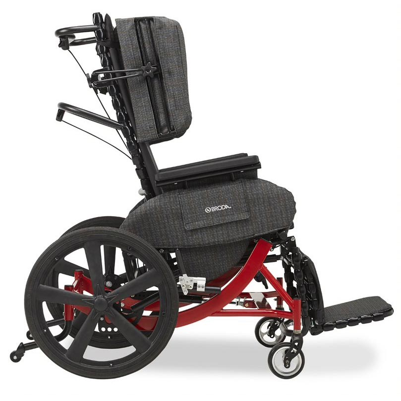 Broda Synthesis V4 Tilt Reclining mobility chair