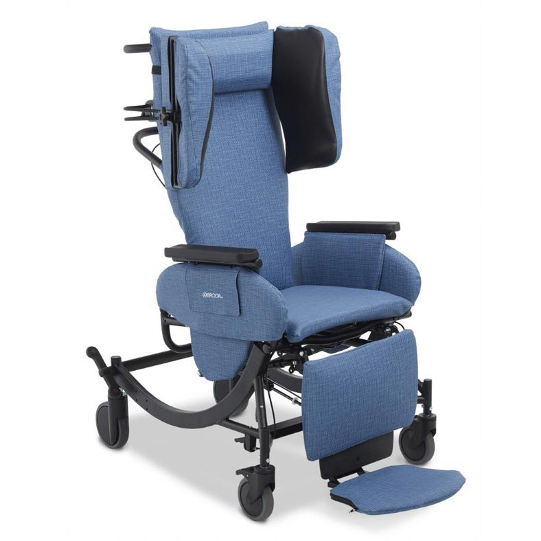 Broda Synthesis V4 Tilt Recliner positioning wheelchair