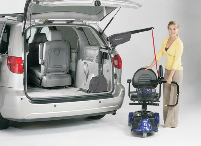 Bruno VSL-6000 Curb-Sider® vehicle lift