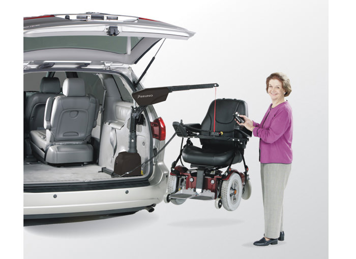 VSL-6000 Curb-Sider® vehicle lift