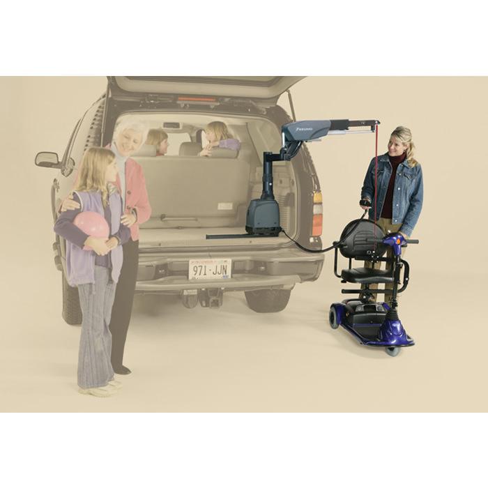 Bruno VSL-6900 Curb-Sider® vehicle lift