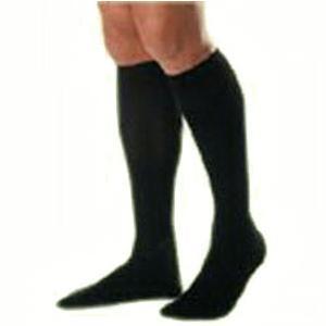 Jobst men's dress SupportWear knee-high mild compression socks, closed toe, large, navy