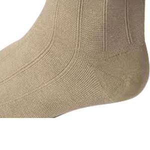 Jobst men's CasualWear knee-high 20-30mmHg firm socks, closed toe, Large tall, khaki
