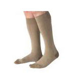 Jobst men's CasualWear knee-high 30-40mmHg extra-firm socks, closed toe, Large tall, khaki
