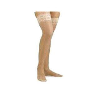 Jobst unisex Relief thigh-high 30-40mmHg extra firm stockings, medium beige