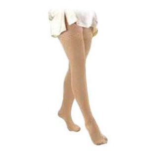Jobst unisex Relief thigh-high 30-40mmHg extra firm stockings, X-Large, beige