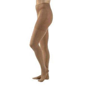 Jobst unisex Relief waist-high 30-40 mmhg X-firm pantyhose closed toe medium beige- Pair