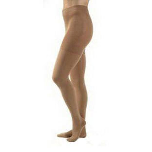 Jobst unisex Relief waist-high 30-40 mmhg X-firm pantyhose closed toe large beige