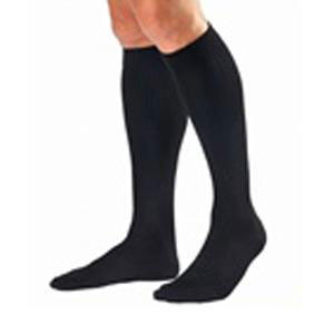 Jobst women's opaque knee-high 30-40mmHg extra firm stocking, closed toe, medium, black
