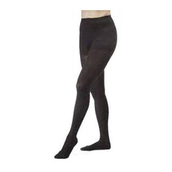 Jobst womens opaque 15-20 mmhg moderate compression pantyhose, closed toe, small, black