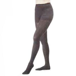 Jobst women's opaque 15-20 mmhg moderate pantyhose, closed toe, medium, classic black