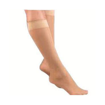 Jobst women's UltraSheer knee-high 20-30mmHg firm stocking, closed toe, xl, full calf,natural
