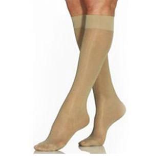 Jobst women's UltraSheer knee-high 30-40mmHg X-firm stocking,closed toe, XL,full calf,natural