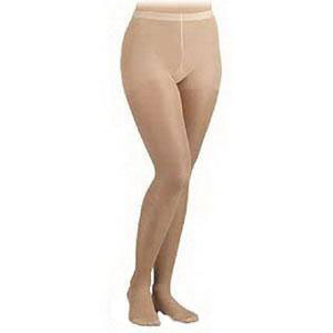 Jobst women's UltraSheer 20-30 mmhg firm compression pantyhose, closed toe, medium, honey
