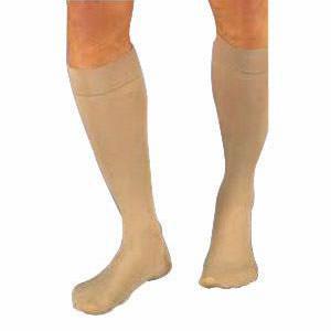 Jobst women's UltraSheer knee-high 20-30mmHg firm stocking, closed toe, small,petite,natural