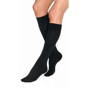 Jobst women's UltraSheer knee-high 30-40mmHg X-firm stocking, closed toe,medium classic black