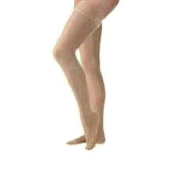 Jobst women's UltraSheer thigh-high 30-40mmHg extra firm stocking, closed toe, large, natural