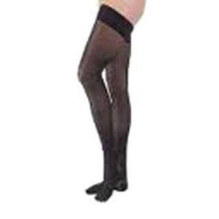 Jobst women's UltraSheer thigh-high 30-40mmHg X-firm stocking, closed toe large classic black