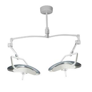 Burton AIM LED Exam Light with Double Ceiling Mount, 120V