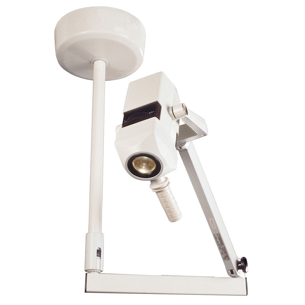 Burton CoolSpot II Exam Light with Single Ceiling Mount, 120V