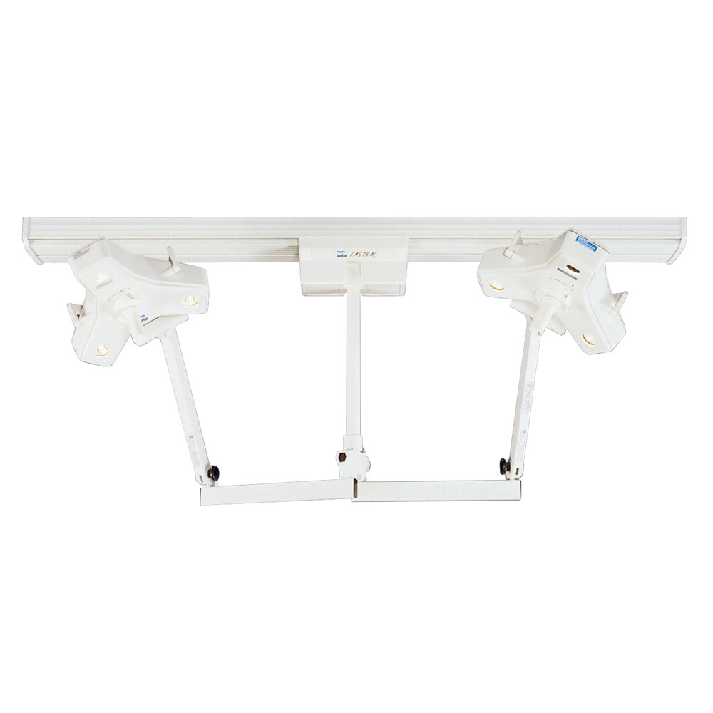 Burton Outpatient II Fastrac, Dual Head and Single Trolley, 120V