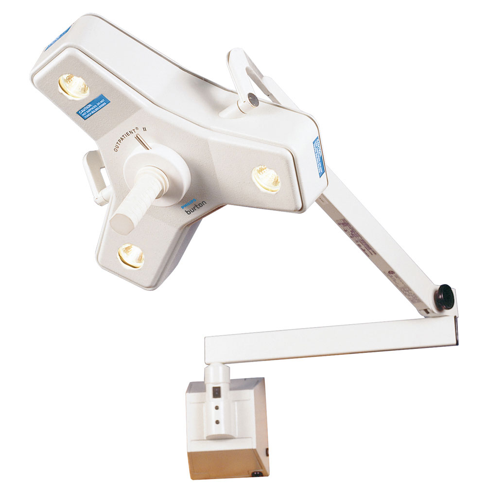 Burton Outpatient II Surgical Light with Wall Mount, 120V