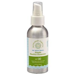 Butterbean Simple Formula Sunscreen Lotion, SPF 30, 4 oz
