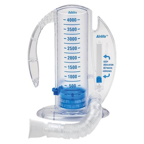 Carefusion Airlife Volumetric Incentive Spirometer with One-Way Valve, 2500ml