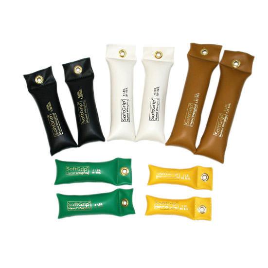 CanDo SoftGrip Hand Weights Set
