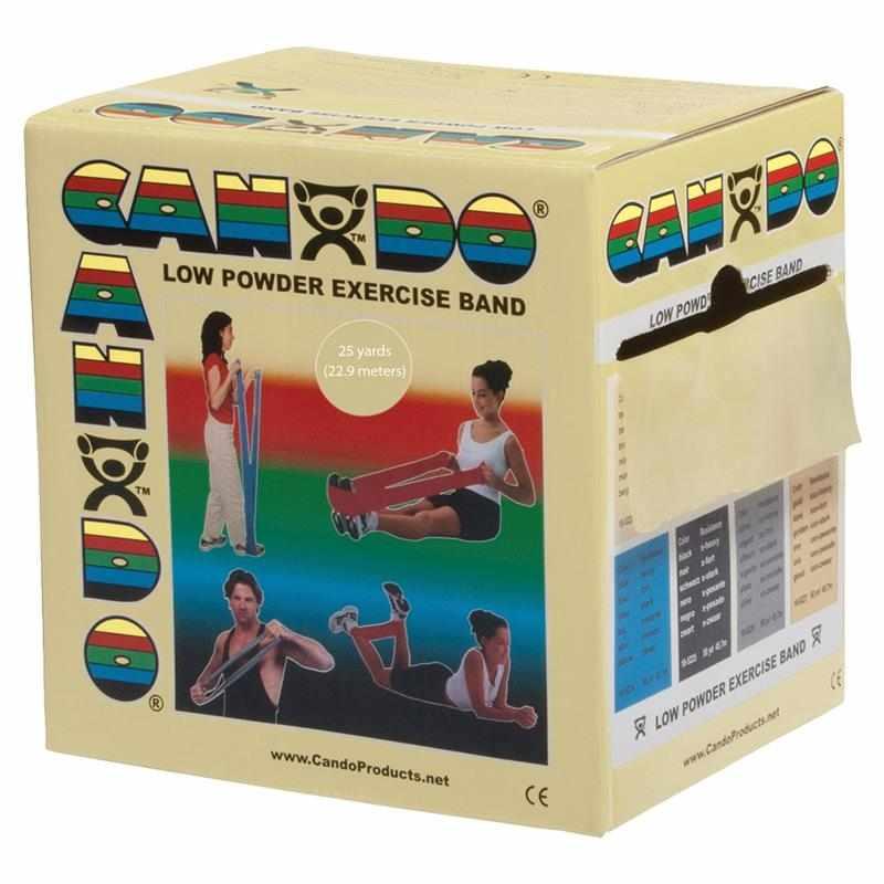 CanDo Low Powder Exercise Band