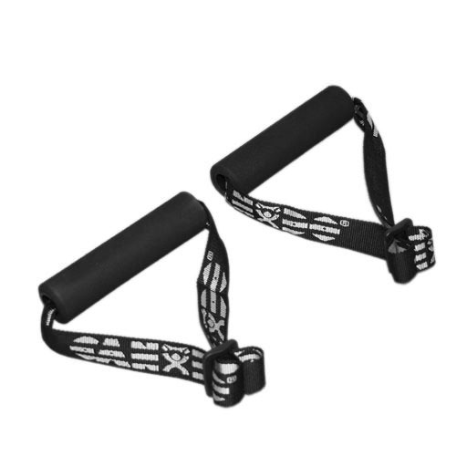 CanDo Exercise Band Accessory, Foam Padded Adjustable Webbing Handle