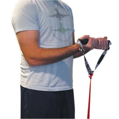 CanDo Exercise Band Accessory, Foam Padded Adjustable Sports Handle