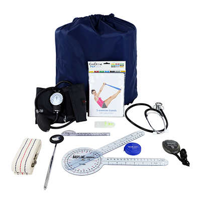 Cando PEP Pack Physical Therapy Student Kit with Standard Items