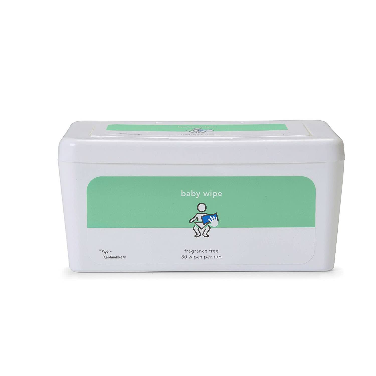 Cardinal Health Baby Wipes, Fragrance Free