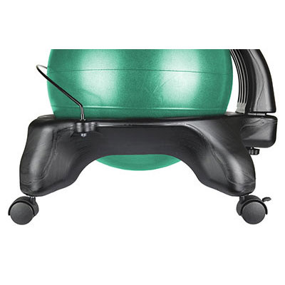 Cando Plastic Mobile Ball Chair