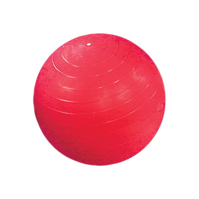 CanDo Inflatable Exercise Ball, Super Thick