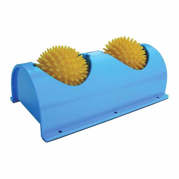 CanDo Foot Massager with 2 rotating massage balls