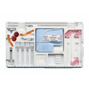 Becton CareFusion Lumbar Puncture Tray w/ 3cc Syringe and 25 Gauze x 5/8 Inch