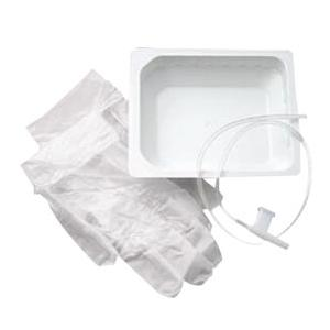 Carefusion Rigid Basin Kit Dry with Tri-Flo 12Fr Suction Catheter