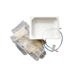 Carefusion Rigid Basin Kit Dry with Tri-Flo Suction Catheter Adult Size 14 Fr