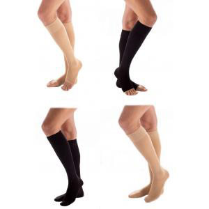 Carolon Health Support Sheer Knee-High Compression Stockings